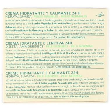 Crema Idratante e Lenitiva Crème Fraîche de Beauté Nuxe