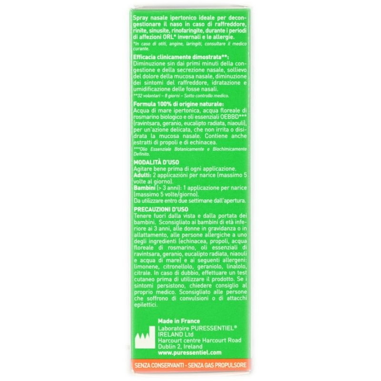 Spray Nasale Ipertonico Puressentiel