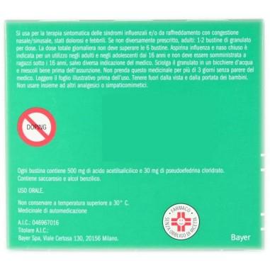 Aspirina Influenza e Naso Chiuso