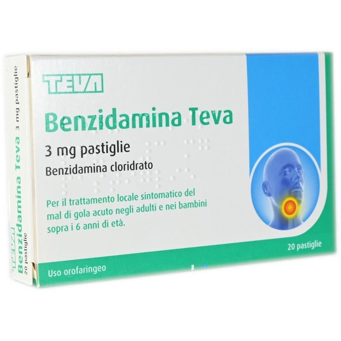 Benzidamina Teva
