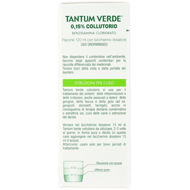 Collutorio Tantum Verde 0,15%