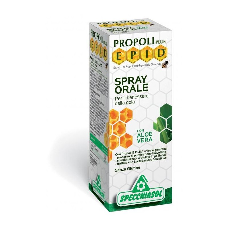 Spray Orale con Aloe Epid