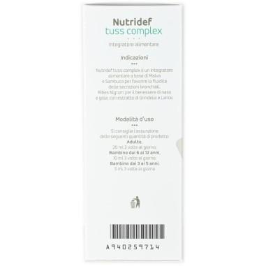 Nutridef Tuss Complex