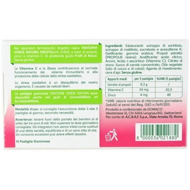 Tantum Verde Natura Frutti di Bosco con Vitamina C