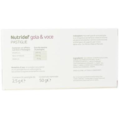Nutridef Gola & Voce Pastiglie