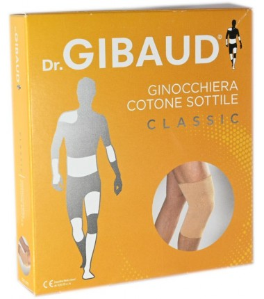 Ginocchiera Cotone Sottile Dr. Gibaud