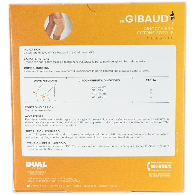 Ginocchiera Cotone Sottile Dr. Gibaud