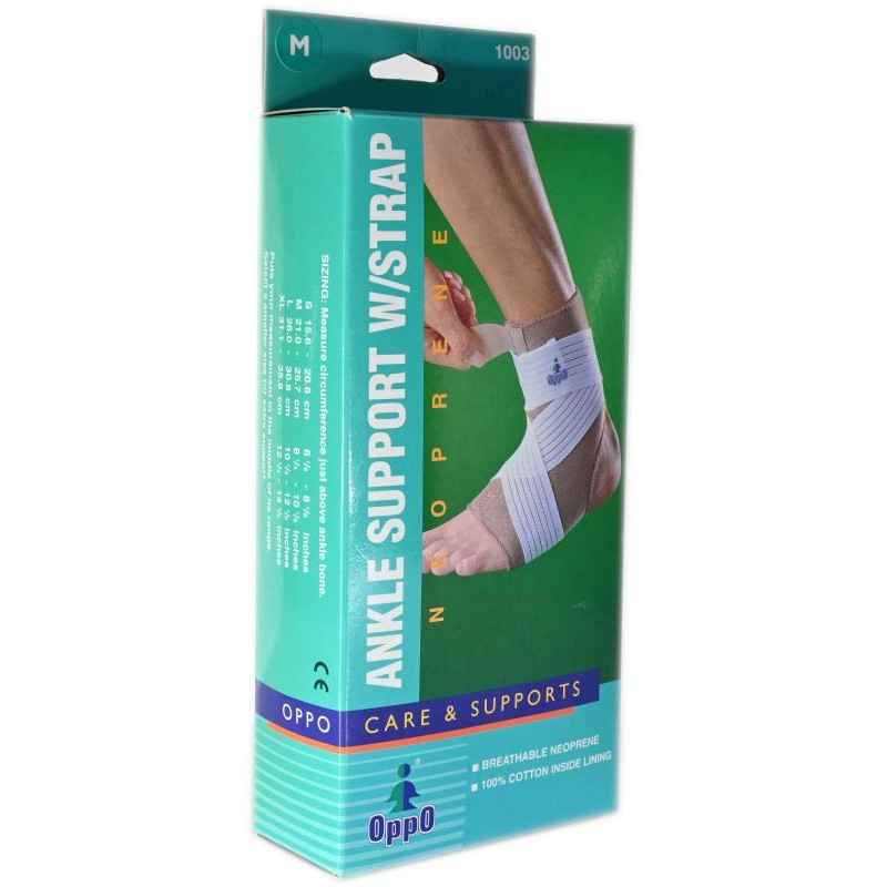 Ankle Support W/Strap Oppo