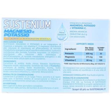Sustenium Magnesio e Potassio