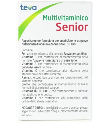 Multivitaminico Senior Teva