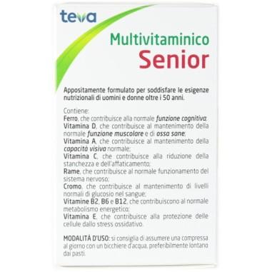 Multivitaminico Senior Teva