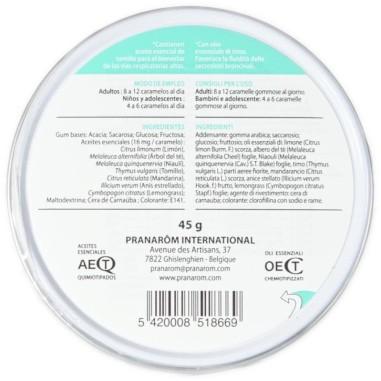 Caramelle Gommose Balsamiche Pranarôm