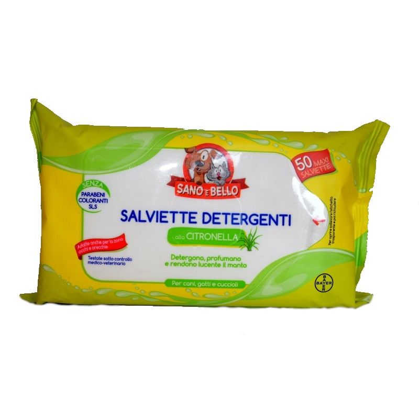 Salviette Detergenti alla Citronella