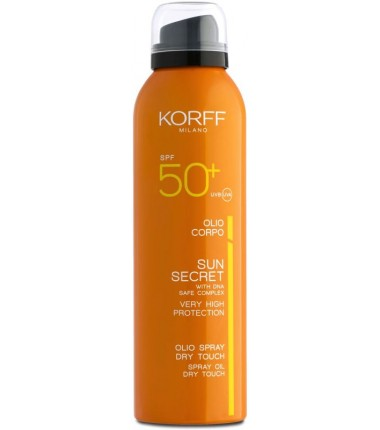 Olio Spray Dry Touch Spf 50+ Korff