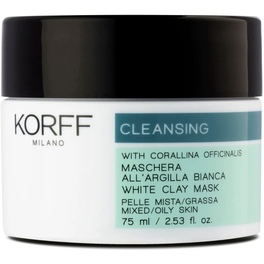 Cleansing Maschera all\'Argilla Bianca Korff
