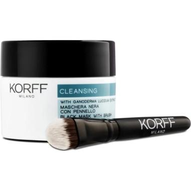 Cleansing Maschera Nera con Pennello Korff