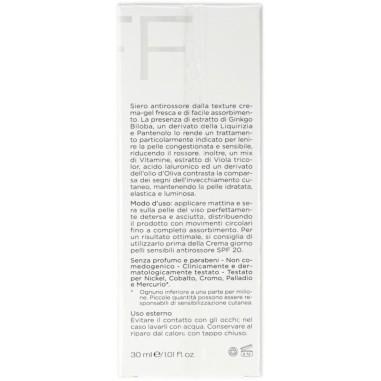 Antirossore Siero Concentrato Pelli Sensibili Korff