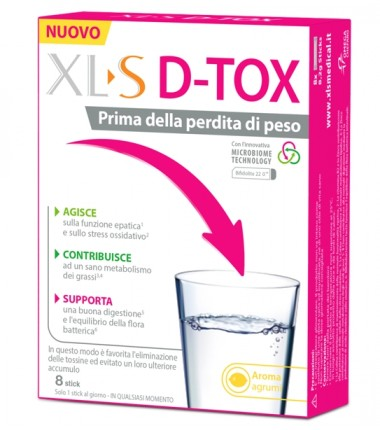 XLS D TOX 8STICKPACK
