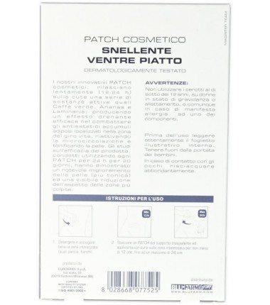 Patch Cosmetico Snellente Ventre Piatto Patch Beautè