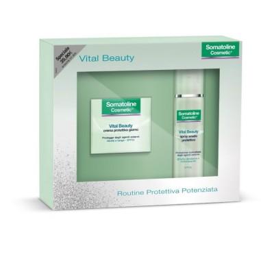 Vital Beauty Routine Protettiva Potenziata Somatoline Cosmetic
