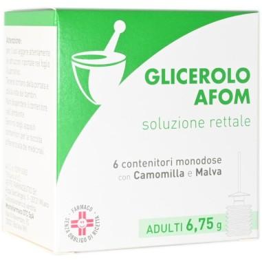 Glicerolo Afom Adulti Soluzione Rettale
