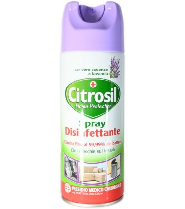 Spray Disinfettante Citrosil Home Protection