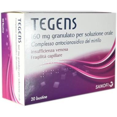 Tegens 160 mg Granulato per Soluzione Orale