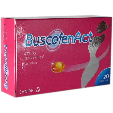 BuscofenAct capsule molli 400 mg.