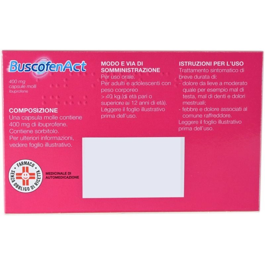 BuscofenAct Capsule Molli 400 mg