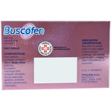 Buscofen Capsule Molli 200 mg