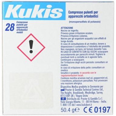 Compresse Pulenti per Apparecchi Ortodontici Mobili Kukis