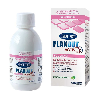 Collutorio Emoform Plak Out Active Sollievo 0,20%