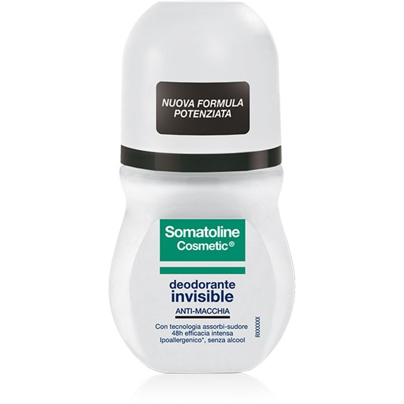 Deodorante Invisible - Roll on Somatoline Cosmetic