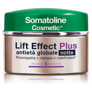 Lift Effect Plus Crema Antietà Globale Notte Somatoline Cosmetic