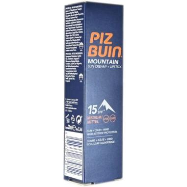 Crema Solare + Stick Labbra Spf 15 Piz Buin Mountain