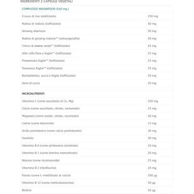 Complesso di Vitamina B con Vitamina C Terranova