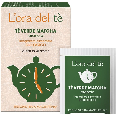 Tè Verde Matcha - Arancio