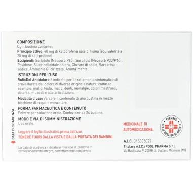 Rofixdol Antidolore