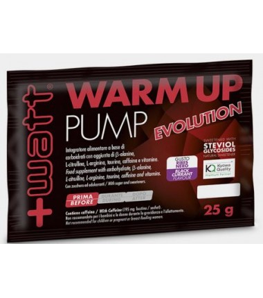 Warm Up Pump Evolution