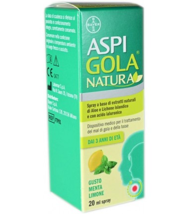 Spray Aspi Gola Natura