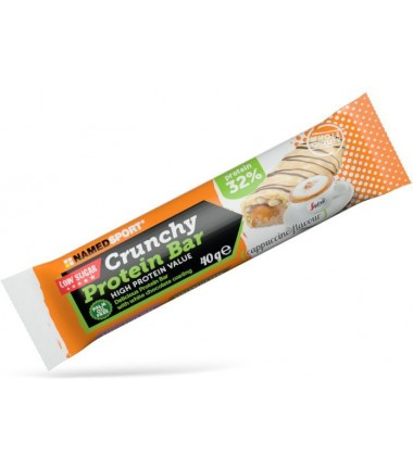 Crunchy Protein Bar Low Sugar Cappuccino