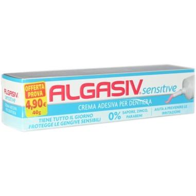 Crema Adesiva per Dentiera Algasiv Sensitive