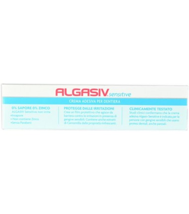 Crema Adesiva per Dentiera Algasiv Sensitive