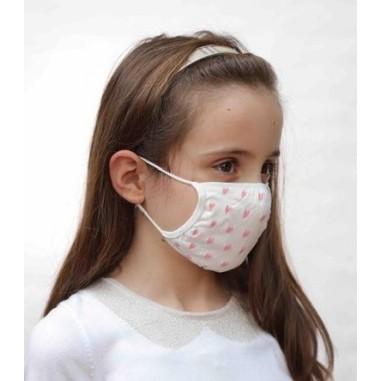 Mascherine Filtranti Protettive per Bambini Cuori