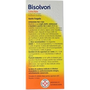Bisolvon Linctus Sciroppo