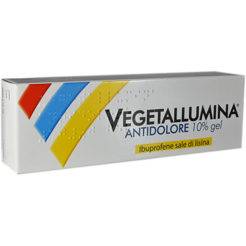 Vegetallumina Gel Antidolore