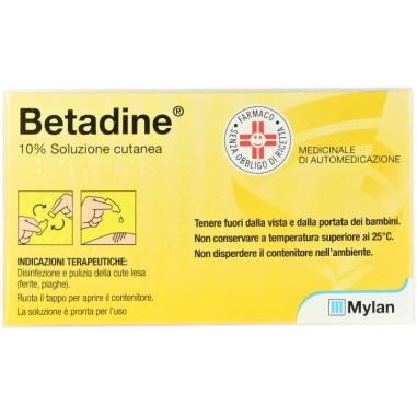 Betadine Soluzione Cutanea