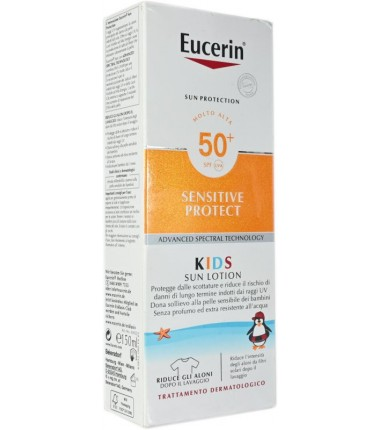 Kids Sun Lotion SPF 50+ Sensitive Protect Eucerin
