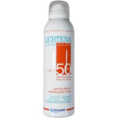 Latte Spray Nebulizzatore SPF 50+ Lichtena