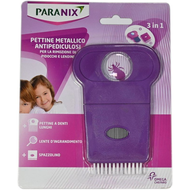Pettine 3 in 1 Paranix